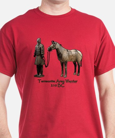 Terracotta Army Warrior Horse T-Shirt