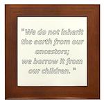 We do not inherit Framed Tile