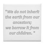 We do not inherit Tile Coaster