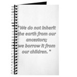 We do not inherit Journal