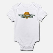 Boston Basketball Daddy Infant Bodysuit