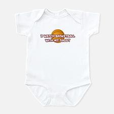 Charlotte Basketball Daddy Infant Bodysuit