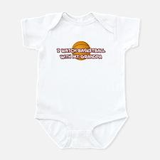 Charlotte Basketball Grandpa Infant Bodysuit