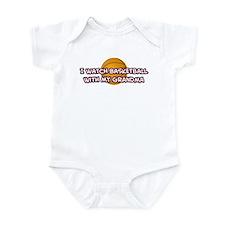 Cleveland Basketball Grandma Infant Bodysuit