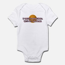 Cleveland Basketball Grandma Infant Bodysuit