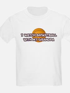 Cleveland Basketball Grandpa T-Shirt