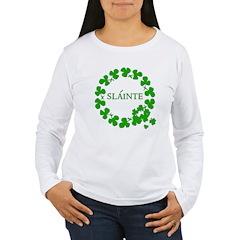 Shamrock Circle SLAINTE T-Shirt
