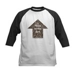 Plays in the dirt Kids Baseball Jersey