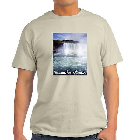 Niagara Falls Ash Grey T-Shirt