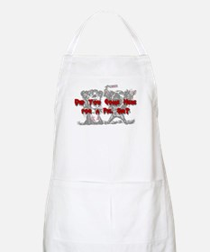 """Did you come here for a PIE, sir?"" BBQ Apron"