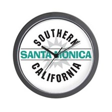Santa Monica California Wall Clock