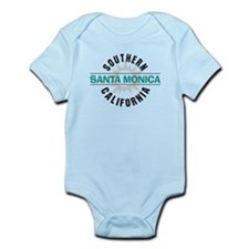 Santa Monica California Infant Bodysuit