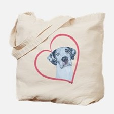 N Heartline Mrlqn Tote Bag