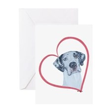 N Heartline Mrlqn Greeting Card