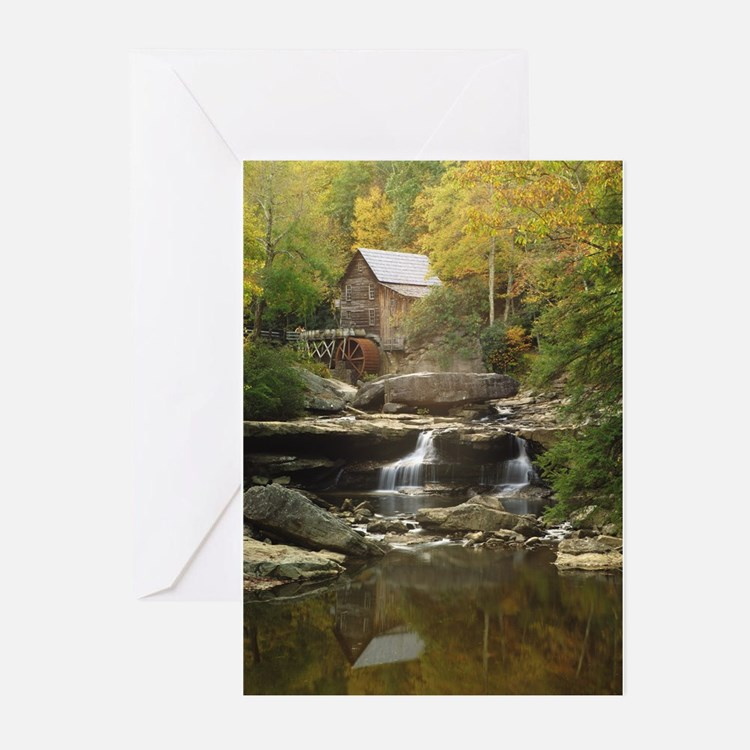 glade creek mill Greeting Cards