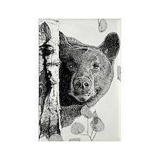 Aspen Bear Rectangle Magnet