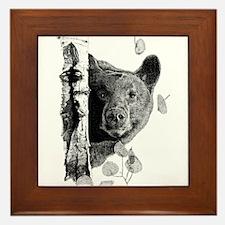 Aspen Bear Framed Tile