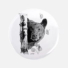 """Aspen Bear 3.5"""" Button"""