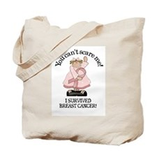 Breast Cancer- You can't scar Tote Bag