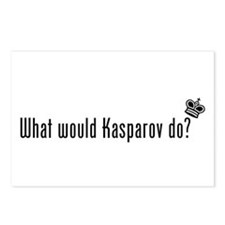 What Would Kasparov Do Postcards (Package of 8)