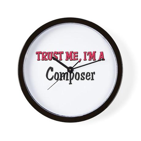 Trust Me I'm a Composer Wall Clock