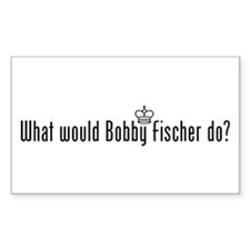 What Would Fischer Do Rectangle Decal