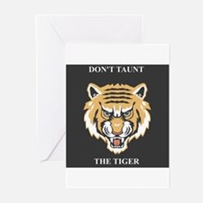 Don't Taunt The Tiger Greeting Cards (Pk of 10)