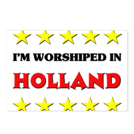 I'm Worshiped In Holland Postcards (Package of 8)