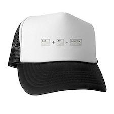 Ctrl Alt Country Trucker Hat
