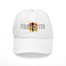 Firefighter Flames Cap