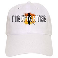 Firefighter Flames Hat