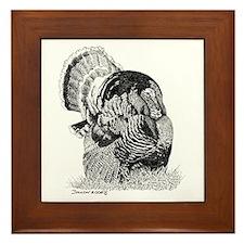 Wild Turkey Framed Tile