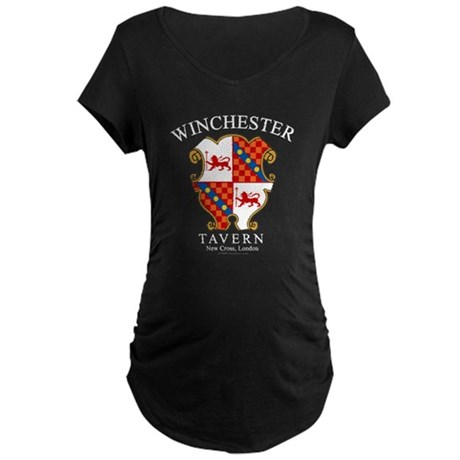 Winchester Tavern Maternity Dark T-Shirt
