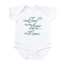Teal For My Hero 1 (Mom OC) Infant Bodysuit