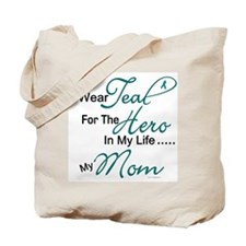 Teal For My Hero 1 (Mom OC) Tote Bag