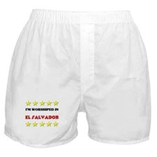 I'm Worshiped In El Salvador Boxer Shorts