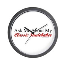 """Ask About My Stude"" Wall Clock"