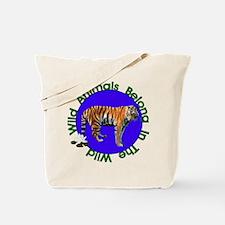 Tatiana The Tiger Tote Bag