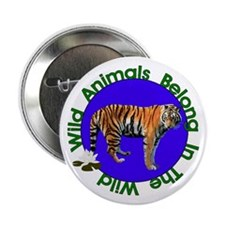 "Tatiana The Tiger 2.25"" Button"