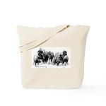 Buffalo Herd Tote Bag