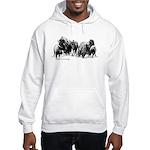 Buffalo Herd Hooded Sweatshirt