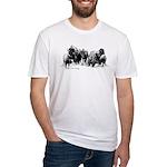Buffalo Herd Fitted T-Shirt