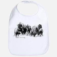 Buffalo Herd Bib