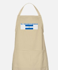 YES I HAVE BEEN TO NICARAGUA BBQ Apron