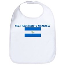 YES I HAVE BEEN TO NICARAGUA Bib