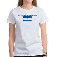 YES I HAVE BEEN TO NICARAGUA Tee