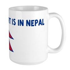 HALF MY HEART IS IN NEPAL Mug
