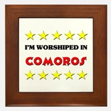 I'm Worshiped In Comoros Framed Tile