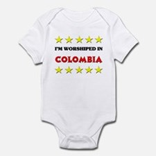 I'm Worshiped In Colombia Infant Bodysuit