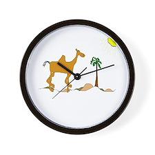 Baghdad Camel Wall Clock